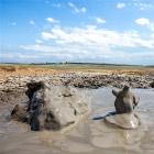 Жидкие пляшущие человечки или грязевые вулканы в Крыму