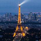 Париж с высоты башни Монпарнас