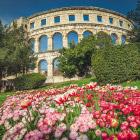 Древний амфитеатр в Хорватии