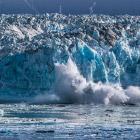 Ледник Хаббард на Аляске