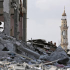 Руины древнего города Газа